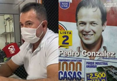 Marcial Lezcano supera en 14 mil veces la mentira del Pinocho González en Pedro Juan Caballero