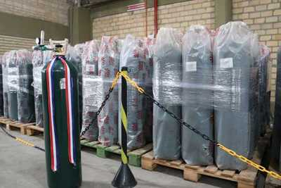 Autorizan importación de 1.676 toneladas de oxígeno medicinal desde Brasil
