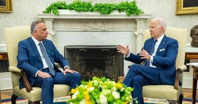 """La Nación / Biden anuncia el fin de """"misión de combate"""" en Irak"""
