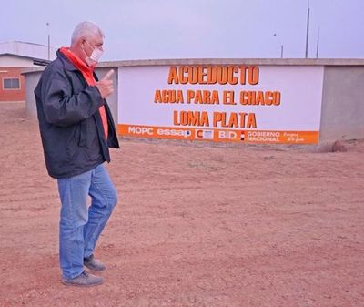 Essap vende agua de uso doméstico a Gs. 5 el litro desde Loma Plata para Chaco Central