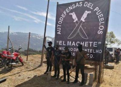 Grupo de autodefensa se conforma tras ataque criminal en Chiapas, México
