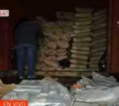 Fernando de la Mora: Incautan mega cargamento de cocaína