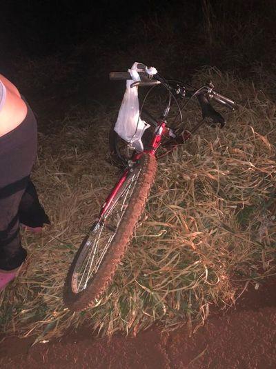 Adolescente ciclista muere atropellado por una camioneta
