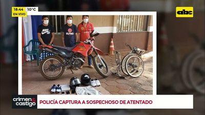 Policía captura a sospechoso de atentado contra vivienda de magistrado