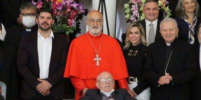 """Nenecho Rodriguez con el Cardenal Cristóbal López: """"Fue  mi director de colegio"""""""