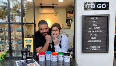 Travelers es el primer café to go de Ciudad del Este (inspirado en las cafeterías de los aeropuertos)