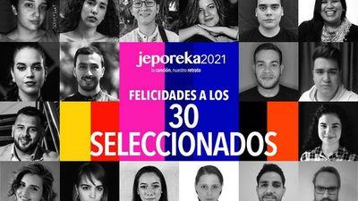 Jeporeka anuncia su lista de  seleccionados para el 2021