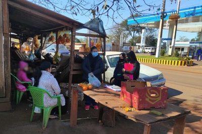 Programa Abrazo y CODENI de Presidente Franco monitorean calles para detectar trabajo infantil