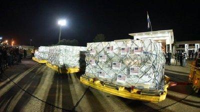 Llegó el segundo lote de 1 millón de dosis Pfizer donadas por EEUU