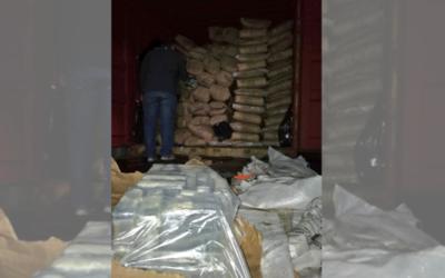 Megaincautación de cocaína representa unos USD 30 millones de pérdida para el crimen organizado