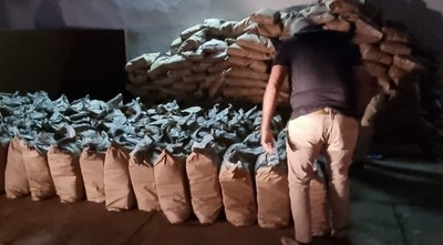 Incautan gran cargamento de cocaína en Fernando de la Mora
