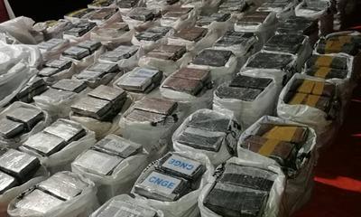 Fernando de la Mora: Hallan 3.400 kilos valuados en USD 35 millones