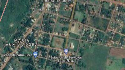 Empleados dejaron de ir por temor a estancia en Tacuatí