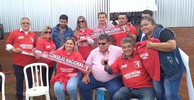 Presidentes de Seccionales de Alto Paraná, con Ovelar en Mallorquín – Diario TNPRESS
