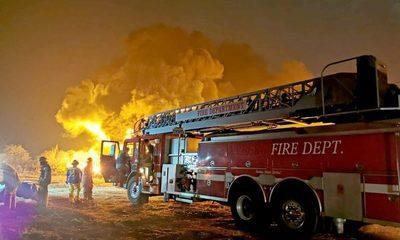 Criminal quema de cubierta en km 16 de Minga Guazú – Diario TNPRESS