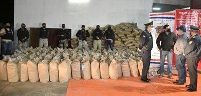 Récord de incautación de cocaína: carga llega a 3.400 kilos y representa un golpe de USD 25 millones para el crimen organizado, estiman
