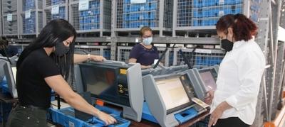 Se preparan más de 2.000 máquinas de votación para proseguir con las capacitaciones