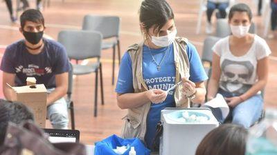 Paraguay alcanza los 2 millones de vacunados contra el Covid-19