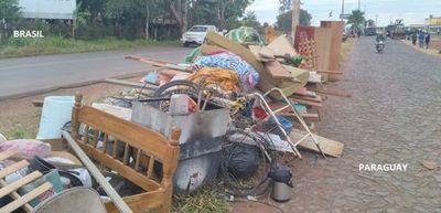 Desalojaron a invasores de propiedades privadas tras pequeños incidentes