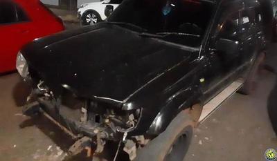 Policía incautó camioneta que arrolló a bailarina luqueña e identificó a conductor •