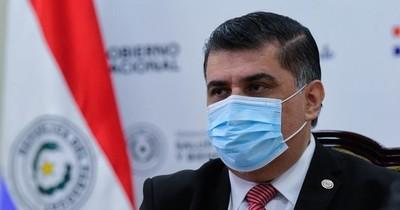 """La Nación / Borba: """"El no vacunado es un peligro no solo para él, sino para los que lo rodean"""""""