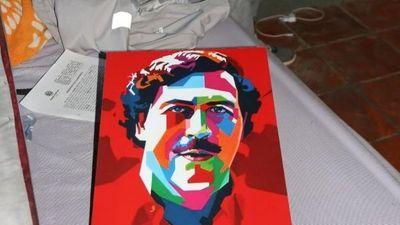 Detienen a vendedor de coca y admirador de Pablo Escobar