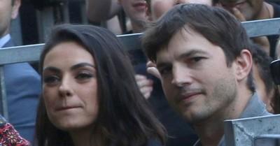 Ashton Kutcher y Mila Kunis admiten que no se bañan muy seguido ni tampoco a sus hijos: Solo si la mugre se les llega a ver
