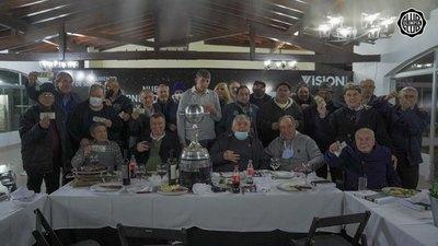 La cena de ODD con los campeones de la Copa Libertadores 1979