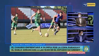 Mendoza resalta un gran espíritu para enfrentar a Olimpia