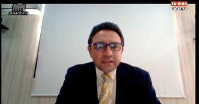La Nación / Interpelación: titular de la Conajzar justifica irregularidades por falta de reglamentación