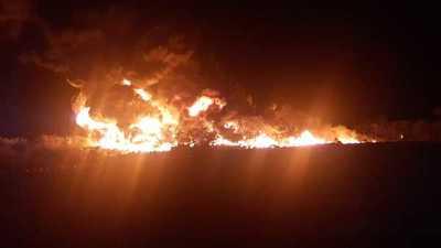Imputan y piden prisión para dos personas por quema de cubiertas en Minga Guazú