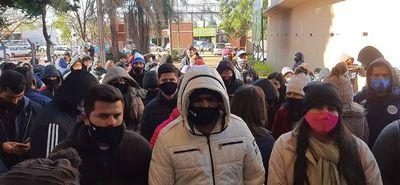 Miles de personas quedaron sin sus dosis antiCovid-19 en el Alto Paraná