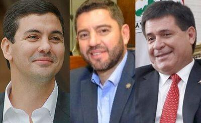 """Cartes, Peña y Alliana, el """"tridente patriótico"""" que propone Bachi"""