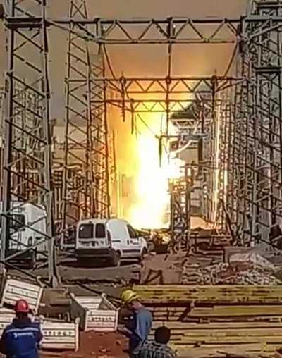 Incendio en subestación de San Lorenzo dejó sin energía eléctrica a varias zonas