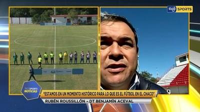 Roussillón expresa la ansiedad del debut en Copa Paraguay