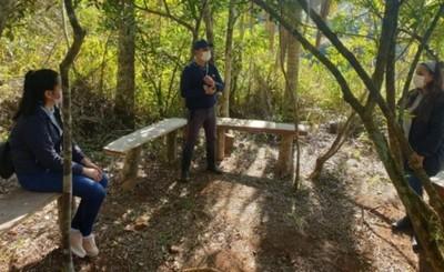 Habilitan sendero en la Reserva Natural de Yguazú