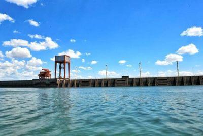 Itaipu garantiza generación de energía pese al bajo nivel del río Paraná