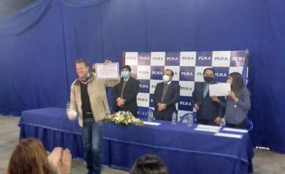 En sesión mau Pinocho González asume como miembro del Directorio del PLRA