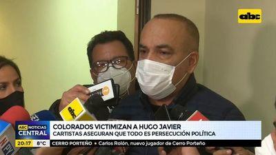 Colorados victimizan a Hugo Javier