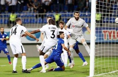 César Meza Colli y el Neftchi Bakú quedan eliminados de la Champions