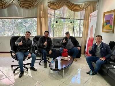Quintana coordina acciones con gobernador del Alto Paraná