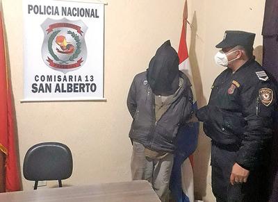 «Tatacho» manejaba por calles de San Aberto con mas alcohol que sangre.
