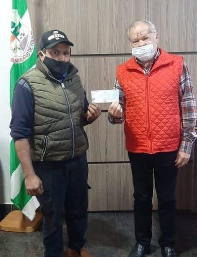 Municipalidad de Yguazú repara ambulancia