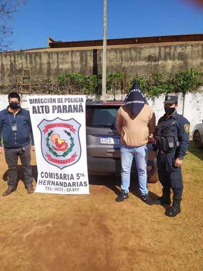 Recuperan una camioneta robada en el Brasil, ya con documentos paraguayos