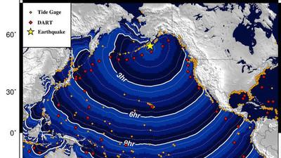 Fuerte terremoto de magnitud 8,2 en el sur de Alaska, provoca evacuaciones por la posible llegada de un tsunami (Video)