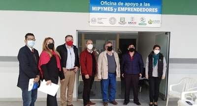 Coordinan acciones para fortalecer la Oficina de Apoyo a las Mipymes y emprendedores de San Pedro