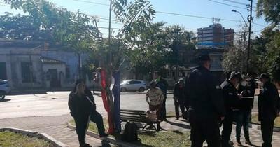 La Nación / Guardiacárceles piden aumento de remuneración frente al Ministerio de Justicia