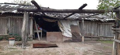 Indiferencia de Hacienda ante clamor de familia en pobreza extrema en el Chaco