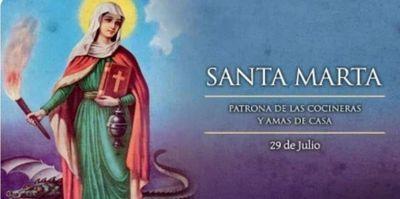 Hoy, casi 7.000 Marta celebran su santo ara