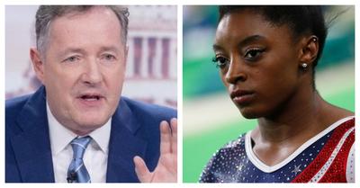 """Decepcionaste a tu país"": Critican a presentador británico que destrozó a Simone Biles por su retiro"